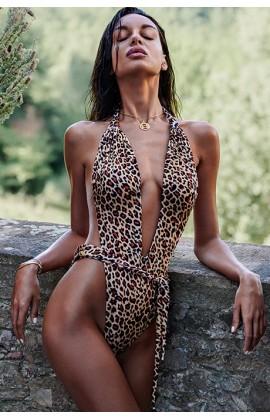 Купальник цельный Obsessive Cancunella Леопард
