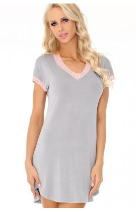 Ночная рубашка LivCo Corsetti Amarantta Пепельно-розовый