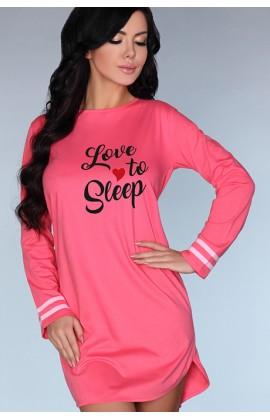 Ночная рубашка LivCo Corsetti Cayani Малиновый
