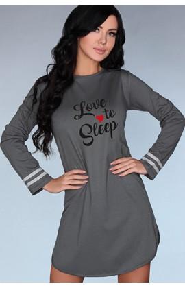Ночная рубашка LivCo Corsetti Dill Графит