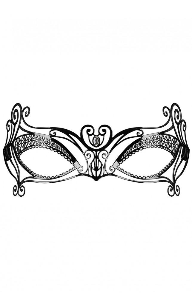 Металлическая маска A702 Черный
