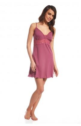057 Женская ночная рубашка 119 Jane розовый-фиолетовый