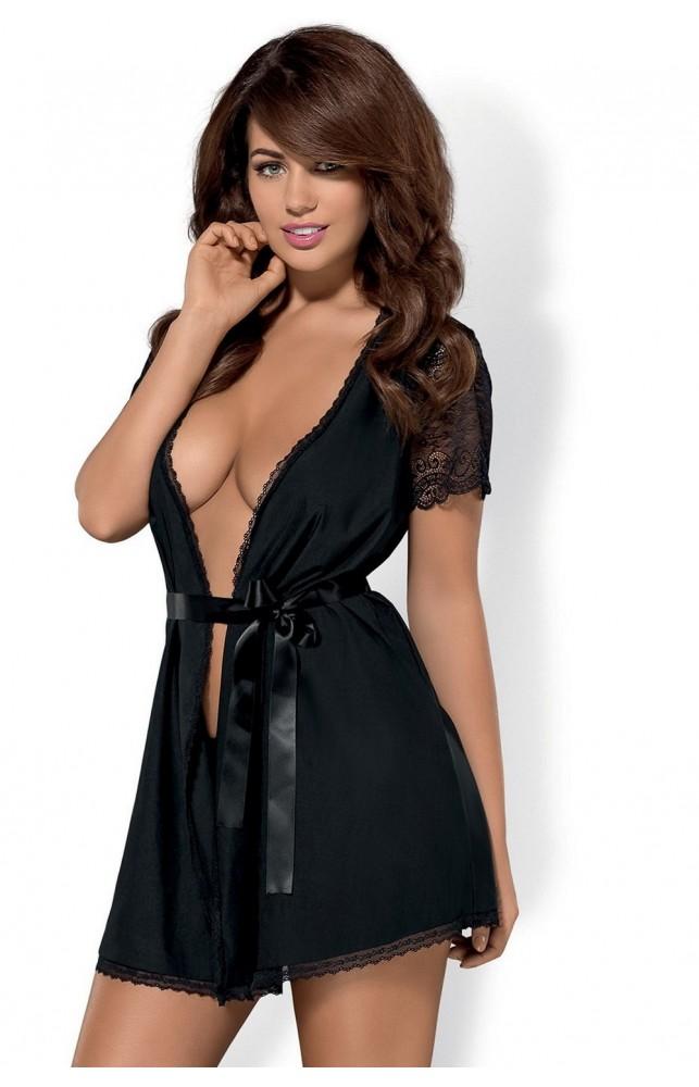 Комплект Obsessive Miamor robe
