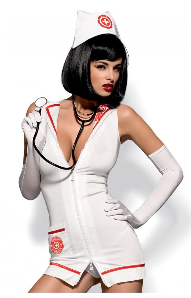 Костюм Obsessive Emergency dress со стетоскопом