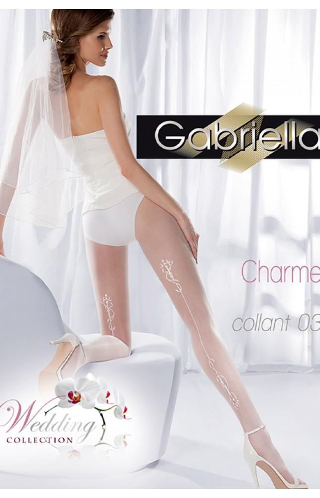 Колготки Gabriella Charme 03 20 den без трусиковой части
