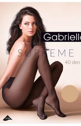 Колготки Gabriella Supreme 40 den с ажурными трусиками