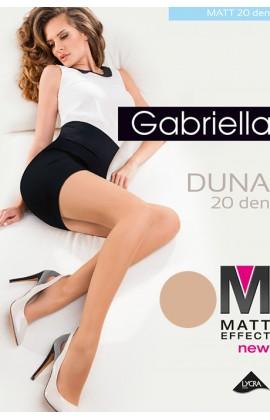 Колготки Gabriella Duna Matt 20 den с уплотненными трусиками Легкий загар