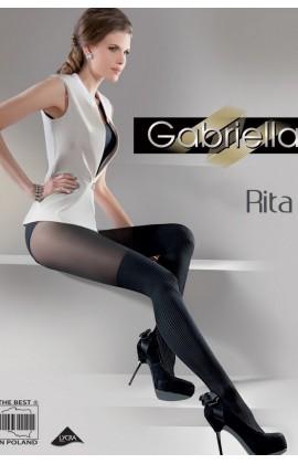 Колготки с имитацией гетр Rita 40d
